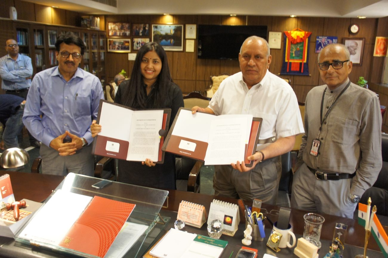 'India Legal' TV channel : National Law University Delhi signs MoU with APN News