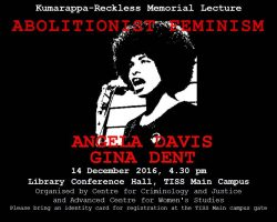 Reflections on Angela Davis's Talk in Mumbai