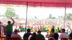 Demand for Vidarbha with Bodoland in Odalguri, Assam