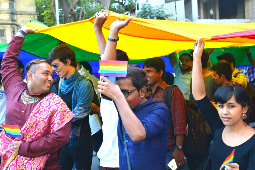 Pride march mumbai 2016