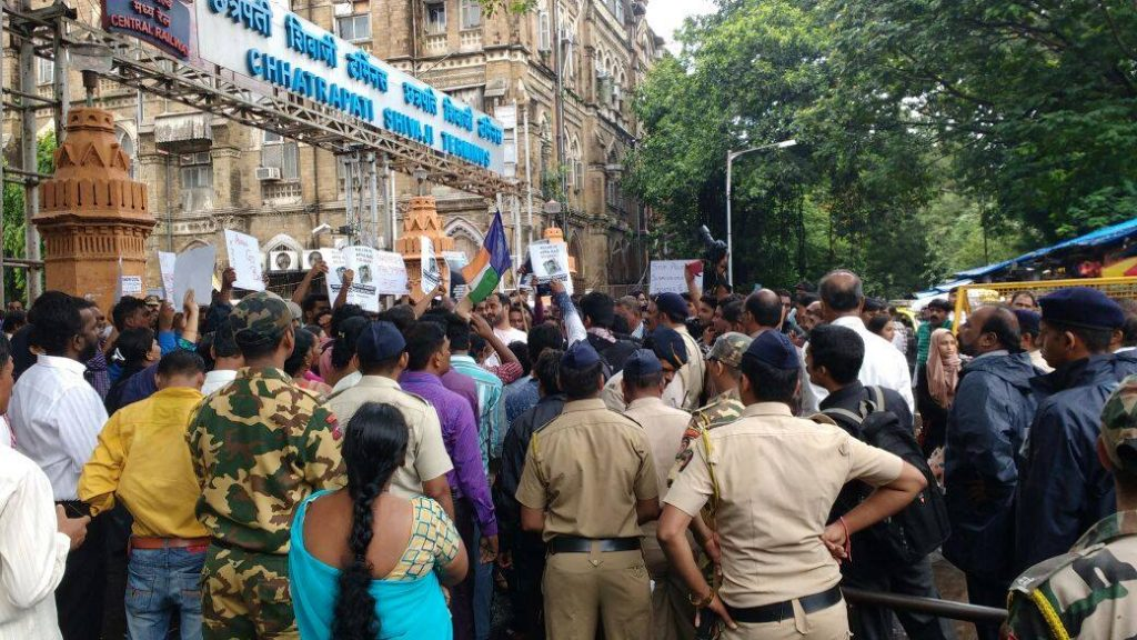 JAC Mumbai- Protest at CST