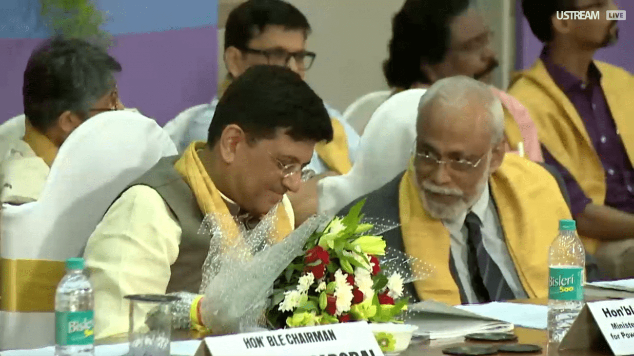 76th Convocation of TISS : Piyush Goyal and Prof. Parashuraman