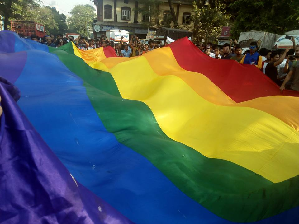 LGBTQ+ Pride March 2018 in Mumbai