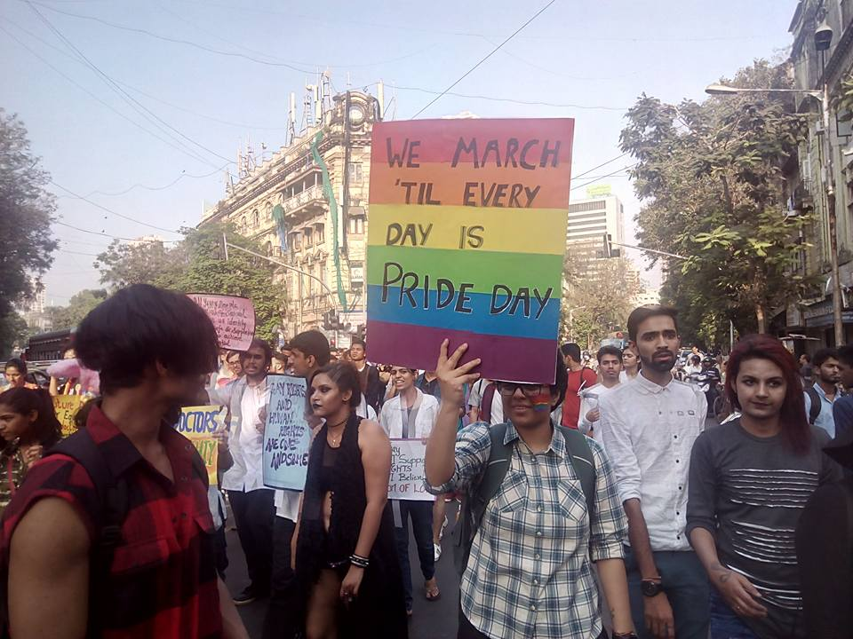 They will keep on marching till Everyday is Pride Day