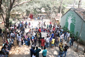 TISS Student Strike against Privatization of education